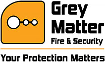Grey Matter Fire and Security Logo